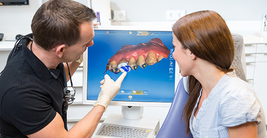 Stock image of Cerec / Cadcam